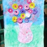 Kids Crafts: Flower Collage