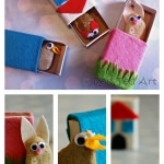 Kids Crafts: Matchbox Stone Pets
