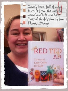 Baby Budgeting re Red Ted Art
