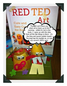 Inspired by Red Ted Art