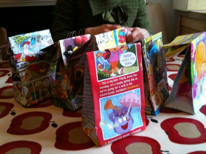 How to… make funky Party Bags!
