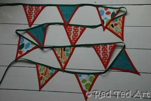easy no sew bunting