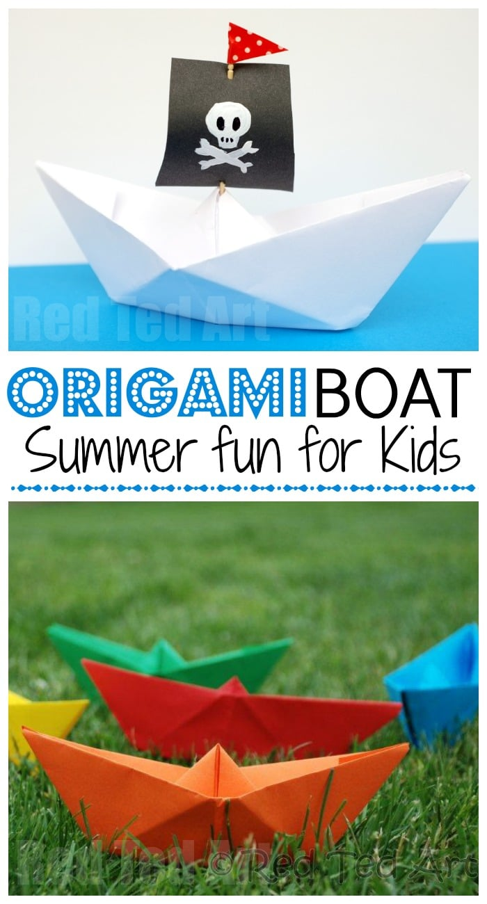 Easy Origami Boat Step By Step, HD Png Download - 500x707(#4617957 ... | 1300x700