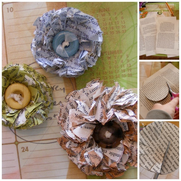 How to.. make a Paper Flower (from newspapers!)