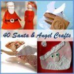 Santa & Angel Get Crafty – Crafts & Ideas