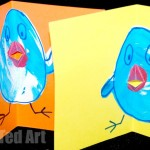 Pop Up Chick Card for Toddlers