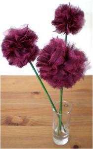 How to… make Fabric Pom Pom Flowers (Guest Post)