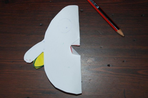 how to make a pop up chick card (3)