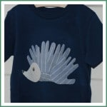 How To… make a No Sew Handprint Appliqué T-shirt