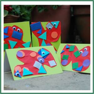 story + Art = great stART – Shapes That Roll & Monster Cards