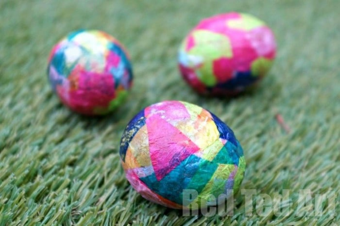 Egg Decorating Ideas for Preschoolers - Eric Carle Eggs