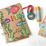 DIY Journal How To (Smash Book, Art Journal, Sketchbooks)