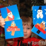christmas-card-making