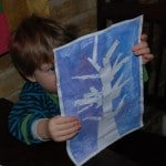 Kids Get Crafty – Winter Trees