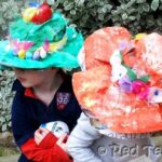 Kids Crafts: Easter Bonnets