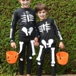 Last Minute Halloween Costumes: Skeletons!
