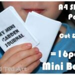 Kids Crafts: Making Mini Books & Garden Journals
