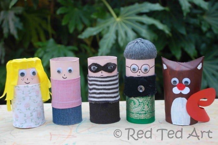 more-cardboard-tube-people