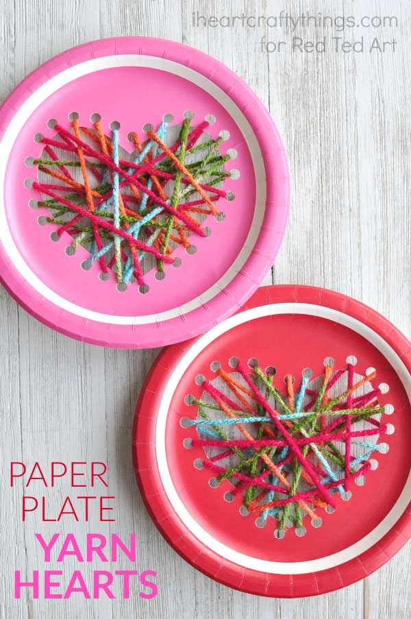 paper-plate-yarn-weaving-heart-craft-2