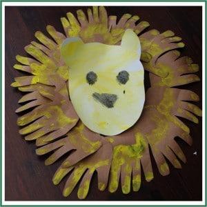 0 handprint lion