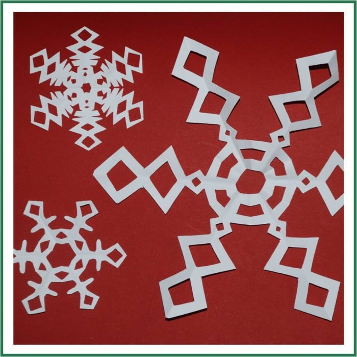 6 pointed snowflake