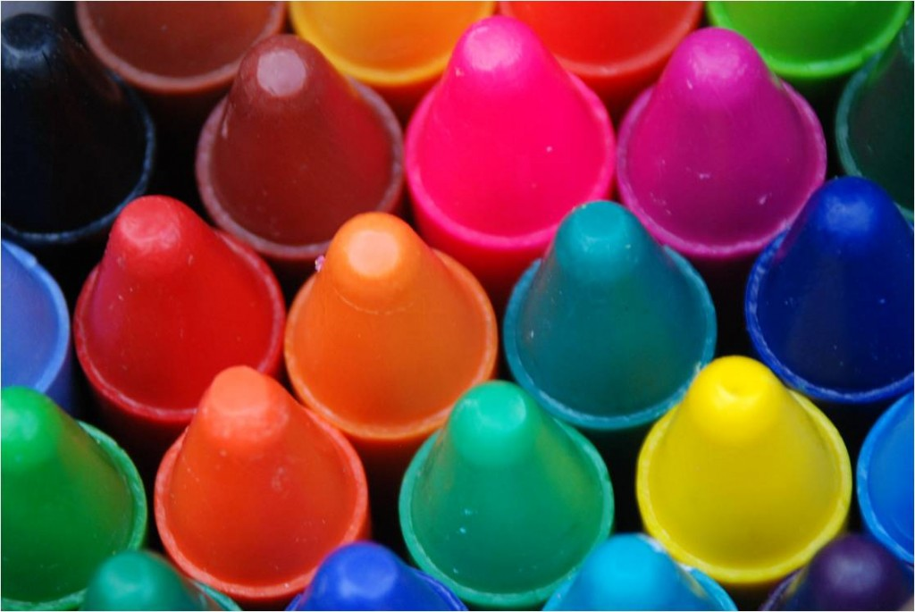 A Photo: We Love Crayons!