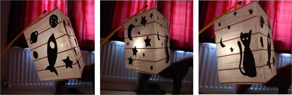 How to... make a (very quick & easy) Lantern - Red Ted Art's Blog