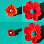 How to… make pretty 3D Felt Flowers