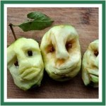 Bonfire Apple Heads