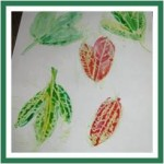 Crayon Leaves