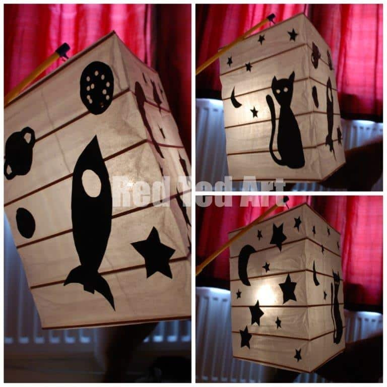 How To Make A Very Quick Easy Lantern Red Ted Art