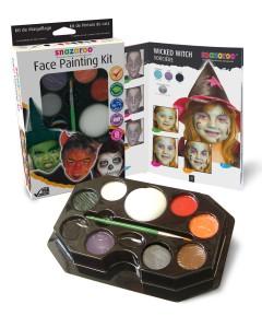Halloween Face Painting Kit