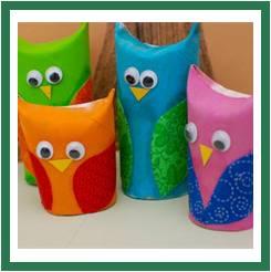 Loo Roll Owls