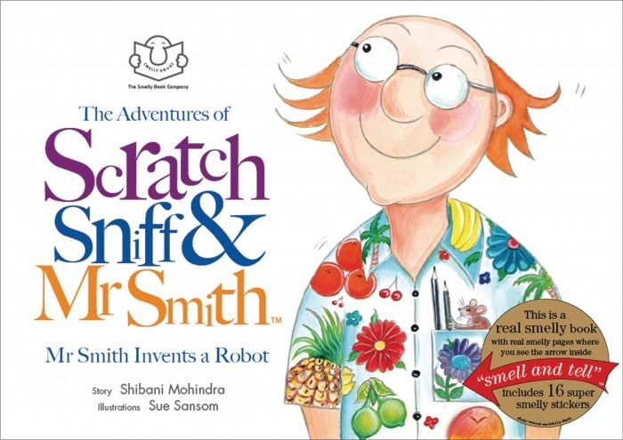 Mr Smith Invents a Robot – Front cover