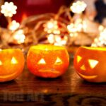 Kids Get Crafty – Chalk Ghosts & Satsuma Lanterns