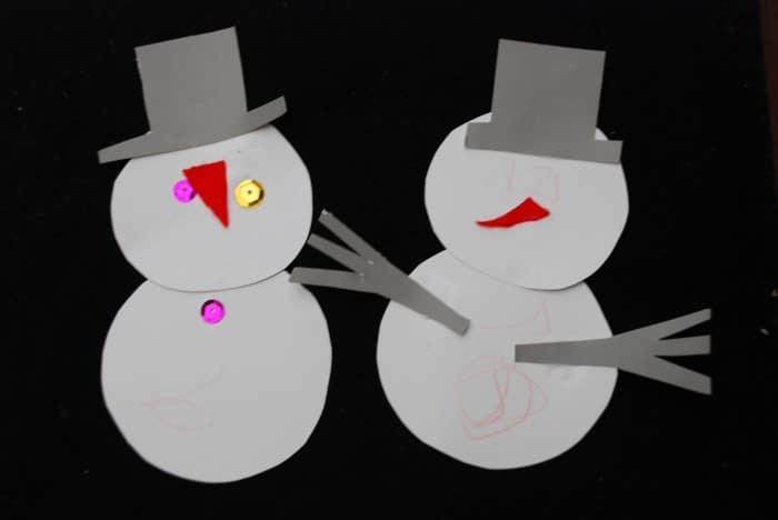 0 Snowman Craft