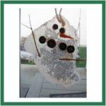 0 melting snowman