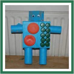 0 robot blue