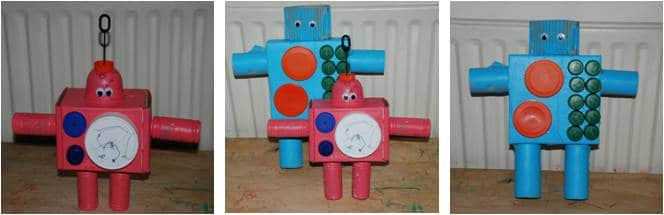 Kids Get Crafty Robots Red Ted Art S Blog