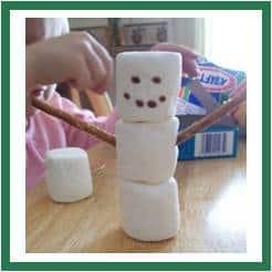 Snowman Marshmallow
