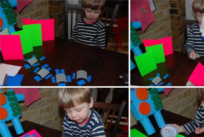 Kids Get Crafty – Robot Cards & The Robot & The Blue Bird