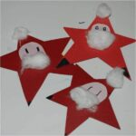 Kids Get Crafty – Nikolaus Sterne or Santa Stars