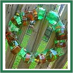 Bottle Wreath