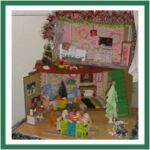 Cardboard Dolls House