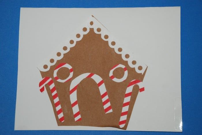 Gingerbread House card