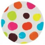Petit Jour White Spotty Children's Plate
