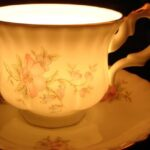 Tea cup Soy wax candle Cinderella by TwilightSpells choose your favourite fragrance