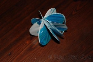 paper bauble how to