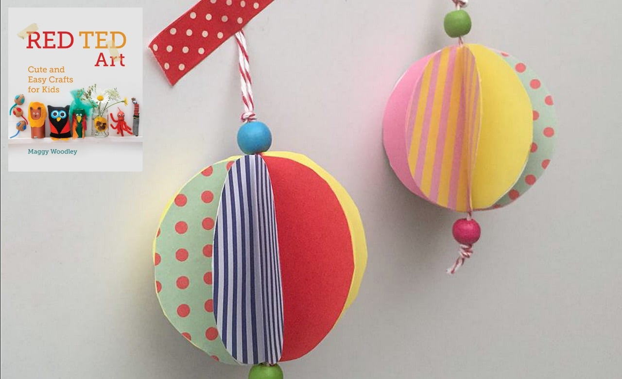 Kids Get Crafty – Christmas Baubles