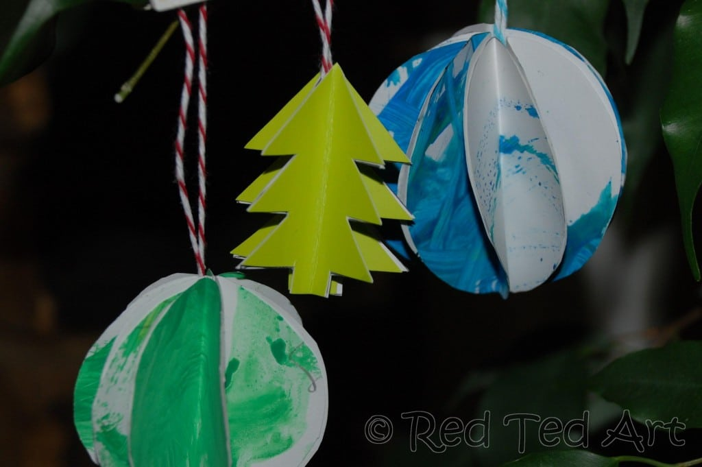 Felt Christmas Tree Ornament Making (and then hanging) these adorable felt trees is an easy craft for the whole family. Get the tutorial at This Heart of Mine.